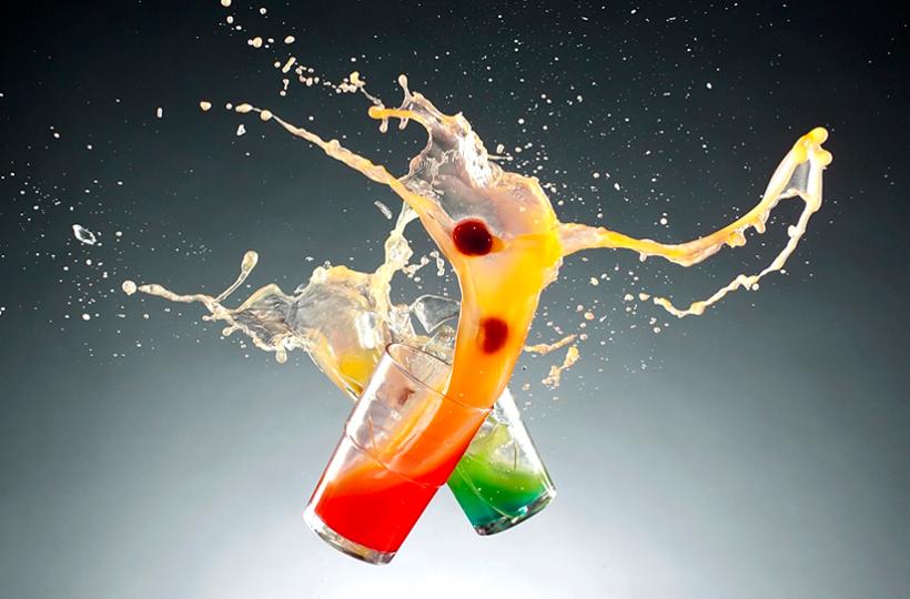 zdjęcie produktowe drinków